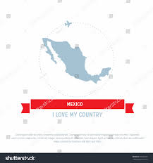 Mexico Country Map by Travel Around Mexico Country Map Ribbon Stock Vector 525063250
