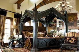 Decorating Your Interior Home Design With Good Cool Goth Bedroom - Cool bedrooms ideas