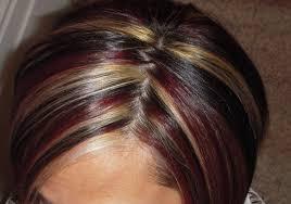 short brown hair with blonde highlights short brown hair with red highlights hairstyle for women man