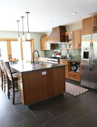 Best Kitchen Floors by 38 Best Kitchen Grey Floor Images On Pinterest Kitchen Floor