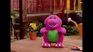 barney turning back into a doll youtube
