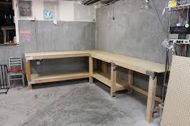 garage workbench roll away workshop startwoodworking com