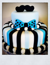 mustaches and bow ties baby shower cake baby shower ideas