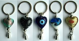 bottle cap necklaces wholesale premade keychains 6mm caps assorted murano glass beads keychains