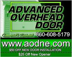 Overhead Door Waterford Mi Advanced Overhead Door Llc Norwich Ct 06360 Homeadvisor