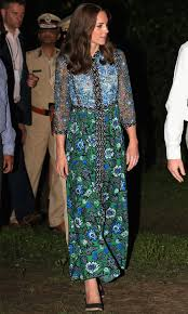 a princess in india what did kate middleton wear