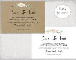 Wedding Announcement Templates Wedding Invitation Templates Printable By Diyweddingsprintable