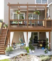 Patio 26 Cheap Patio Makeover by 30 Ideas To Dress Up Your Deck Outdoor Living Decking And Patios