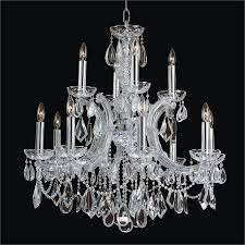 Glow Lighting Chandeliers Theresa Smooth Chandelier Theresa 561a