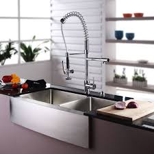 faucet khf203 36 in stainless steel by kraus
