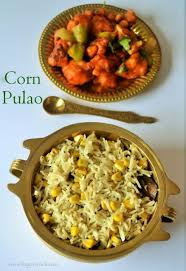 scook cuisine pic a about cooking pulao corn rice and recipes