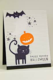 halloween paper products papertrey ink happy spooky halloween die papertrey ink clear