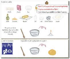 exercice recette de cuisine svt pb1 quels ingrédients sont nécessaires pour la fabrication du