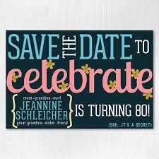 save the date birthday cards custom birthday save the date 4x6 downloadable flowery save the