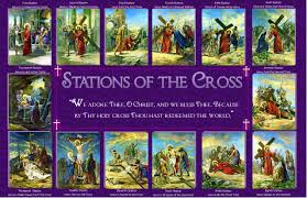 printable stations of the cross kids coloring europe travel
