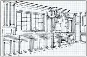 simple kitchen cabinet plans glamorous 25 simple kitchen drawing design decoration of simple