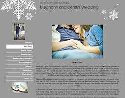 our wedding website wedding a tour of our wedding website