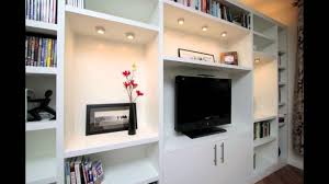 wall units interesting built in tv units built in for tv custom