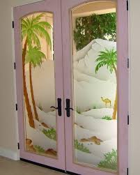 Decorative Glass Interior Doors Fancy Room Doors And Entrance Doors Which Could The Main Accent