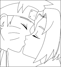 naruto naruto x sakura lineart by madhouse1991 on deviantart