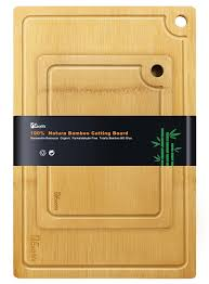 amazon com 1easylife organic 2 piece bamboo cutting board extra