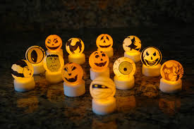 booturtle u0027s show and tell make your own halloween tea lights