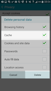 android cache how to clear your browser cache on android devices inmotion hosting