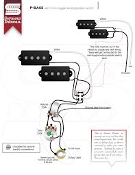 p bass wiring diagram ewiring