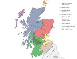 Map Of Scotland And England by Scotland U0027s Many Subcultures Demos Quarterly