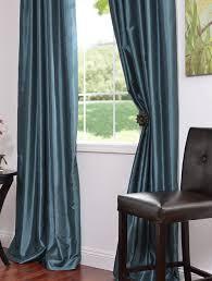 silk peacock home decor amazing peacock blue curtains and best 25 faux silk curtains ideas