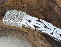solid sterling silver mens bracelet images 925 sterling silver bali bracelets jpg