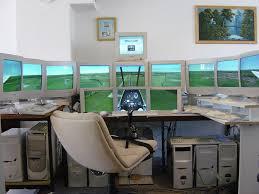 Flight Sim Desk Old Flight Simulator