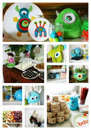 inc baby shower clever monsters inc themed baby shower