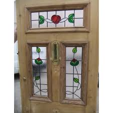 stained glass door patterns victorian edwardian 5 panel stained glass exterior original door
