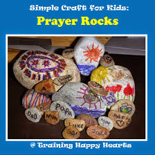 training happy hearts a simple fun faith craft for kids prayer