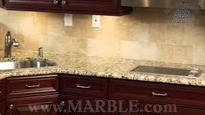 santa cecilia granite kitchen countertops iii marble com youtube