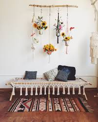 Macrame Home Decor by Fascinating Hanging Flower Decor Will Bring Freshness Into Your Home