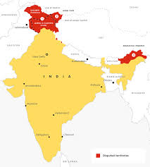 India Political Map by What Does India Think European Council On Foreign Relations