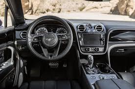 bentley steering wheel at night 2017 bentley bentayga first test review motor trend