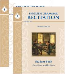 english grammar recitation workbook one set memoria press