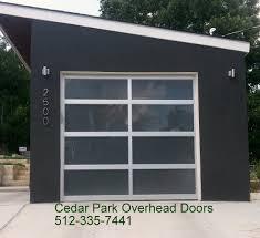 Shed Overhead Door by Full View Aluminum U0026 Glass Doors Cedar Park Overhead Doors
