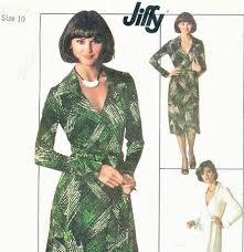 1970s dvf wrap dress pattern diane von furstenberg style