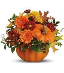 thanksgiving flower arrangement ceramic pumpkin in longview tx s petals