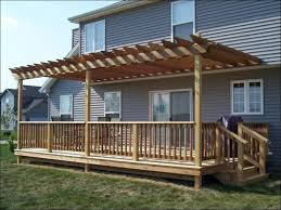 Deck Awning Outdoor Amazing How To Build An Awning Over A Deck White Patio