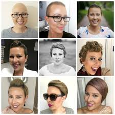 how to grow out hair after cancer taking risks my cancer chic chemo hair loss pink hair pixie