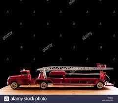 tonka fire truck tonka fire truck tfd metal toy collectible stock photo royalty