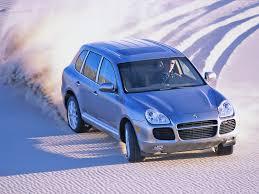 2004 Porsche Cayenne Turbo - 2004 porsche cayenne turbo downhill desert 1024x768 wallpaper