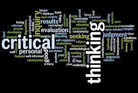 Critical thinking developing students      critical thinking  kristina d    FC