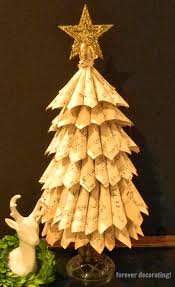 forever decorating songbook page christmas tree