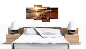 living room canvas large sunset beach canvas wall art pictures living room prints xl